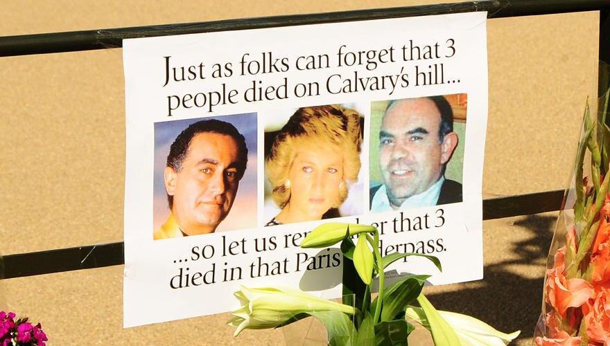 Große Anteilnahme am 15. Todestag von Lady Diana und den Mitinsassen des Fahrzeugs.