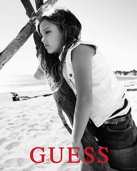 """Dannielynn Birkhead für die """"Guess kids Spring 2013""""- Werbekampagne."""