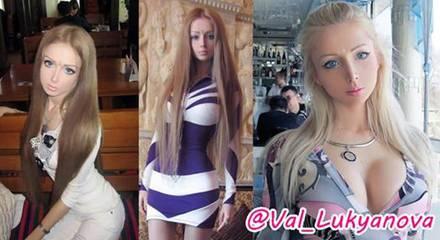 Für Astralkörper und Puppengesicht muss Valeria Lukyanova viel tun. Aber das macht ihr nichts aus: Denn eine Kunstfigur zu sein,