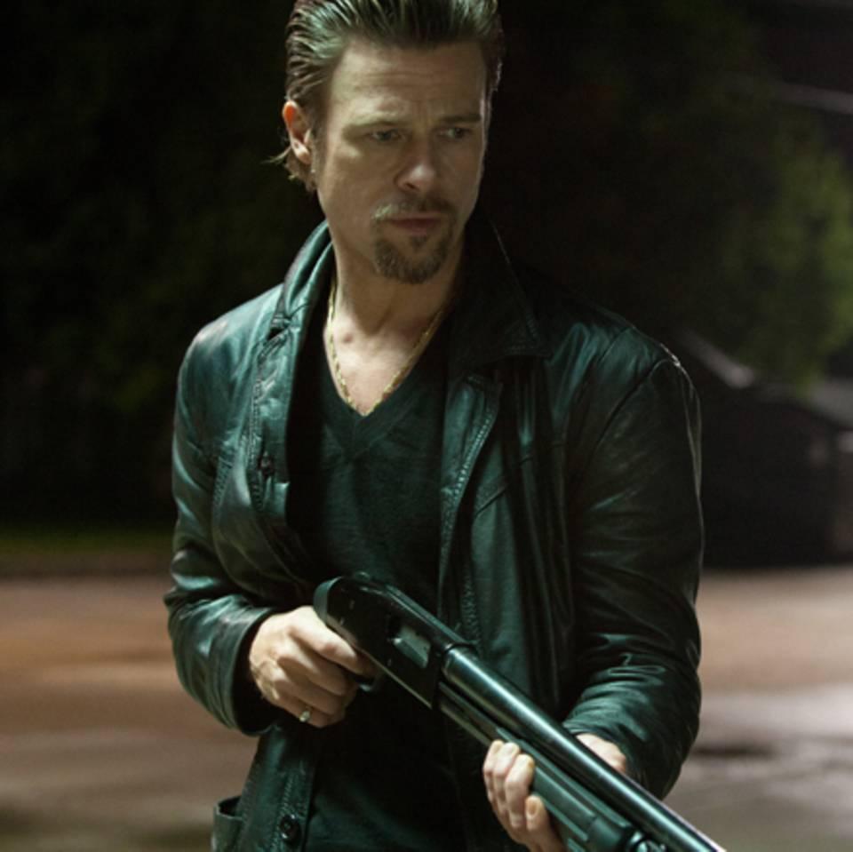 "Filmszene aus ""Killing them softly"" mit Brad Pitt als Killer Jackie Cogan."