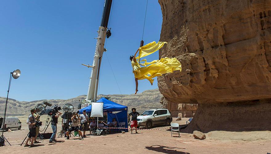 Die erste Challenge fand in der Wüste Negev in Israel statt.