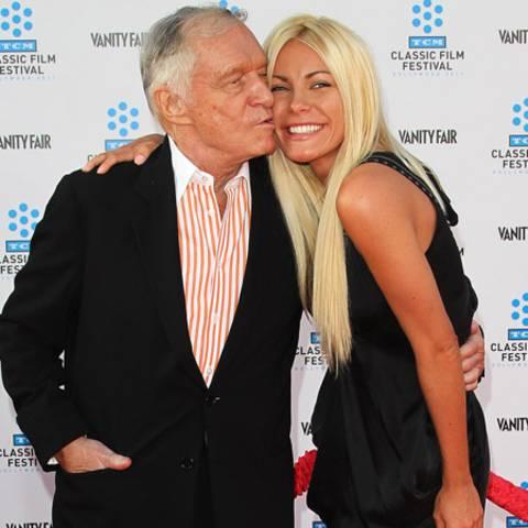 Hugh Hefner und Crystal Harris