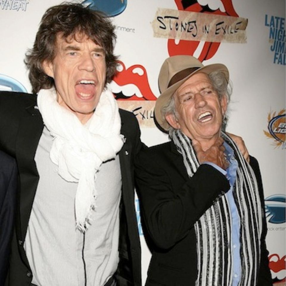 Keith Richards und Mick Jagger