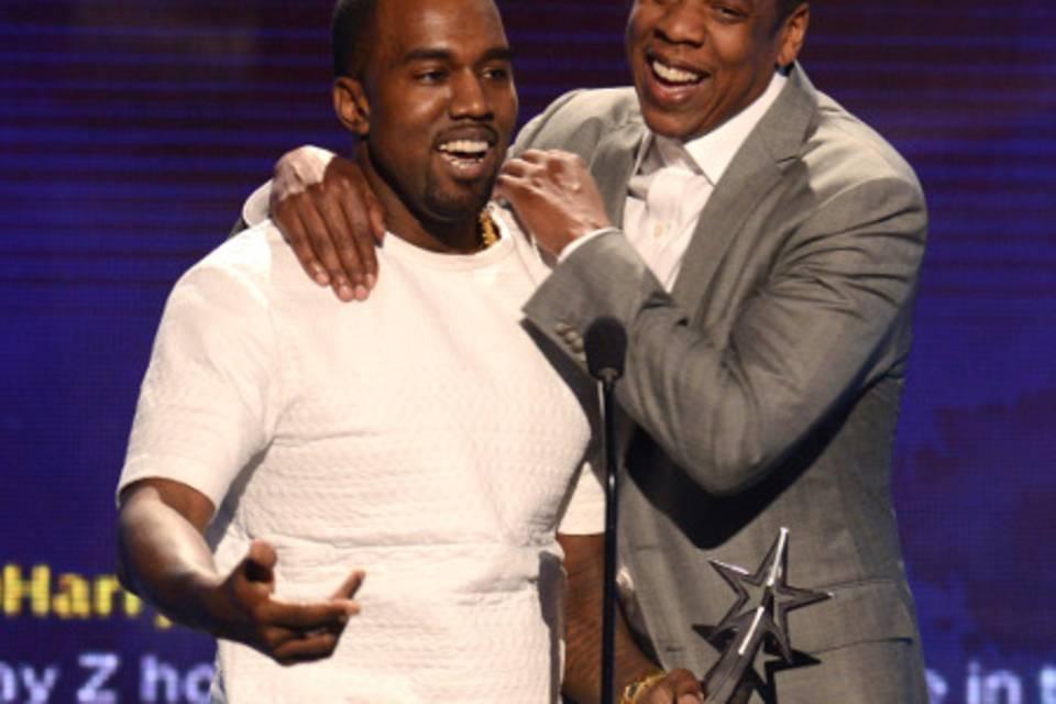 Kanye West und Jay-Z