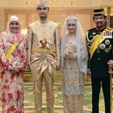 Königin Saleha, Muhammad Ruzaini, Prinzessin Hafizah, Sultan Hassanal Bolkiah
