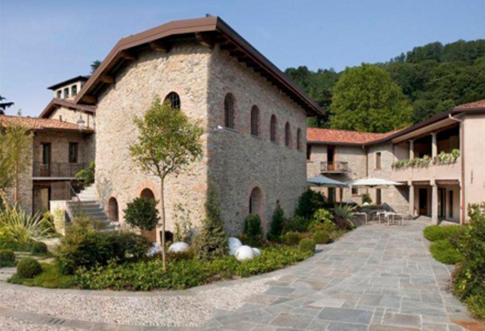 """Das Anwesen """"Ti Sana Detox Retreat & Spa"""" aus dem 18. Jahrhundert bietet modernste Food- und Sportprogramme."""