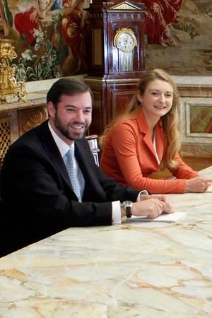 Guillaume und Stéphanie von Luxemburg