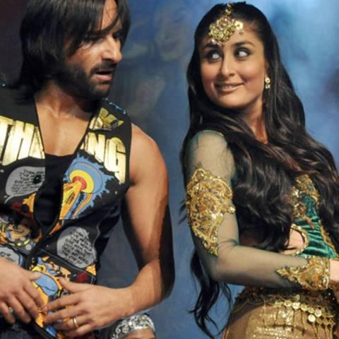 Saif Ali Khan und Kareena Kapoor