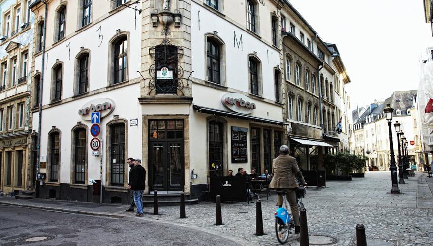 "Altstadt-Bar ""Urban"" (2, rue de la Boucherie) in  Luxemburg."