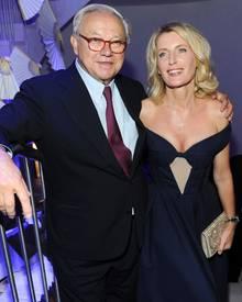 Mit dem Verleger Hubert Burda, 72, ist Maria Furtwängler seit 21 Jahren verheiratet.