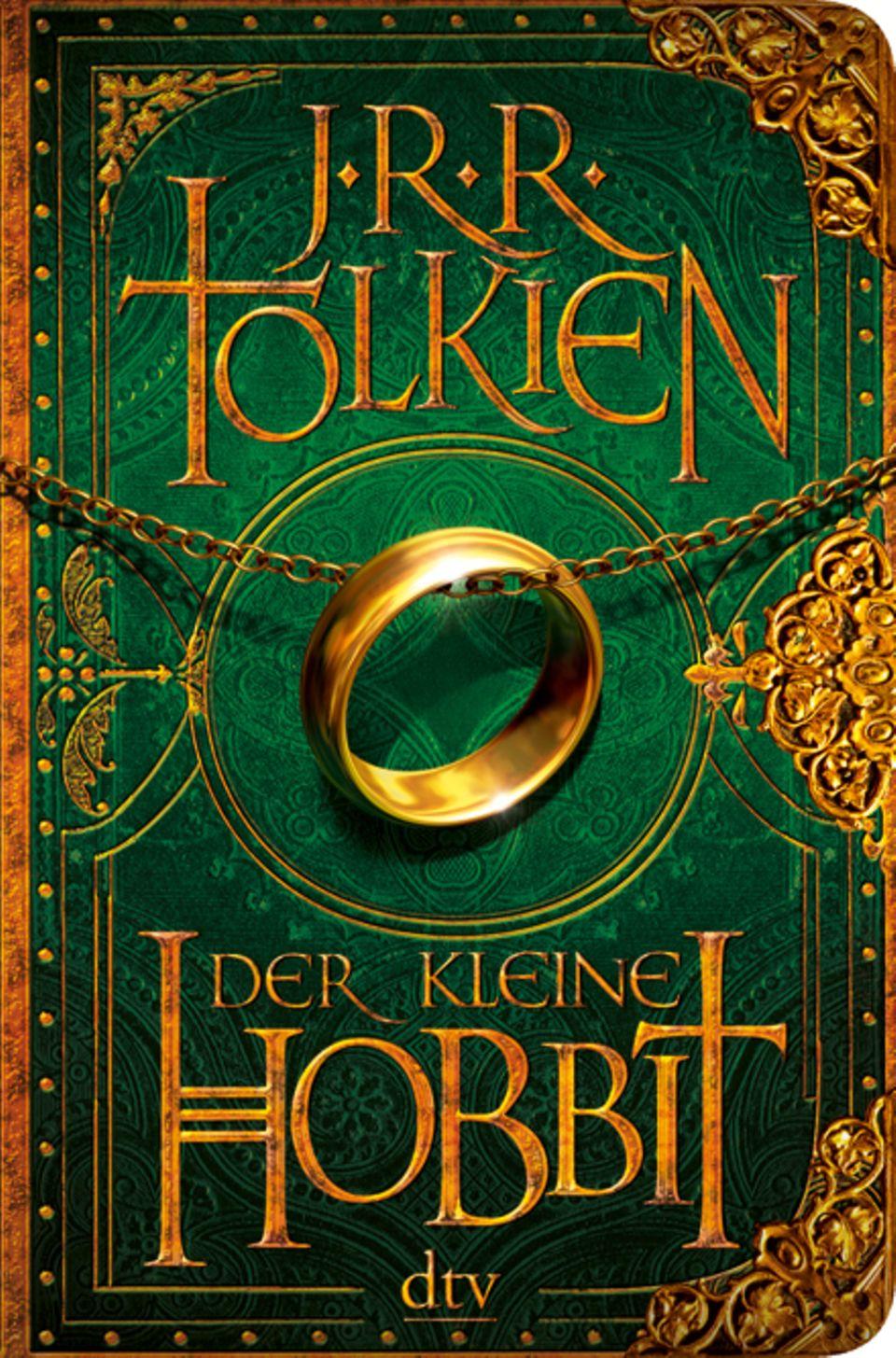 """Das Buch, auf dem alles basiert: """"Der kleine Hobbit"""" von J.R.R. Tolkien."""
