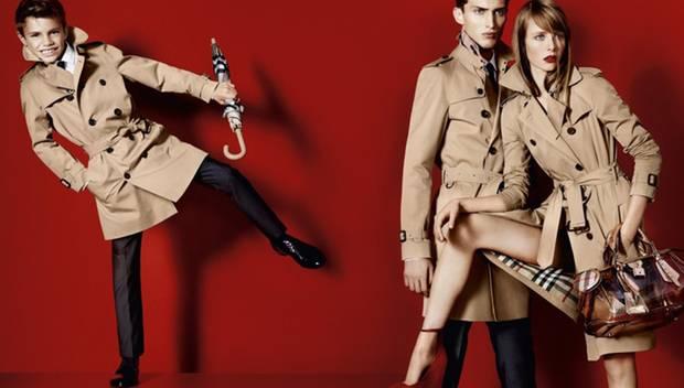 Luxus für Kinder mit einem Augenzwinkern präsentiert: Romeo Beckham kannte man bislang eher sportlich, doch im klassischen Trenc