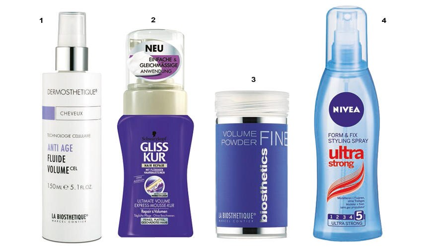 Frisur-Twist Produkte