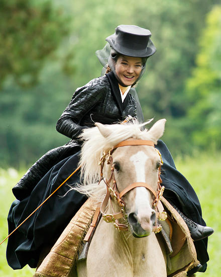"Die Traumrolle der Sisi in ""Ludwig II."" spielt Hannah Herzsprung."