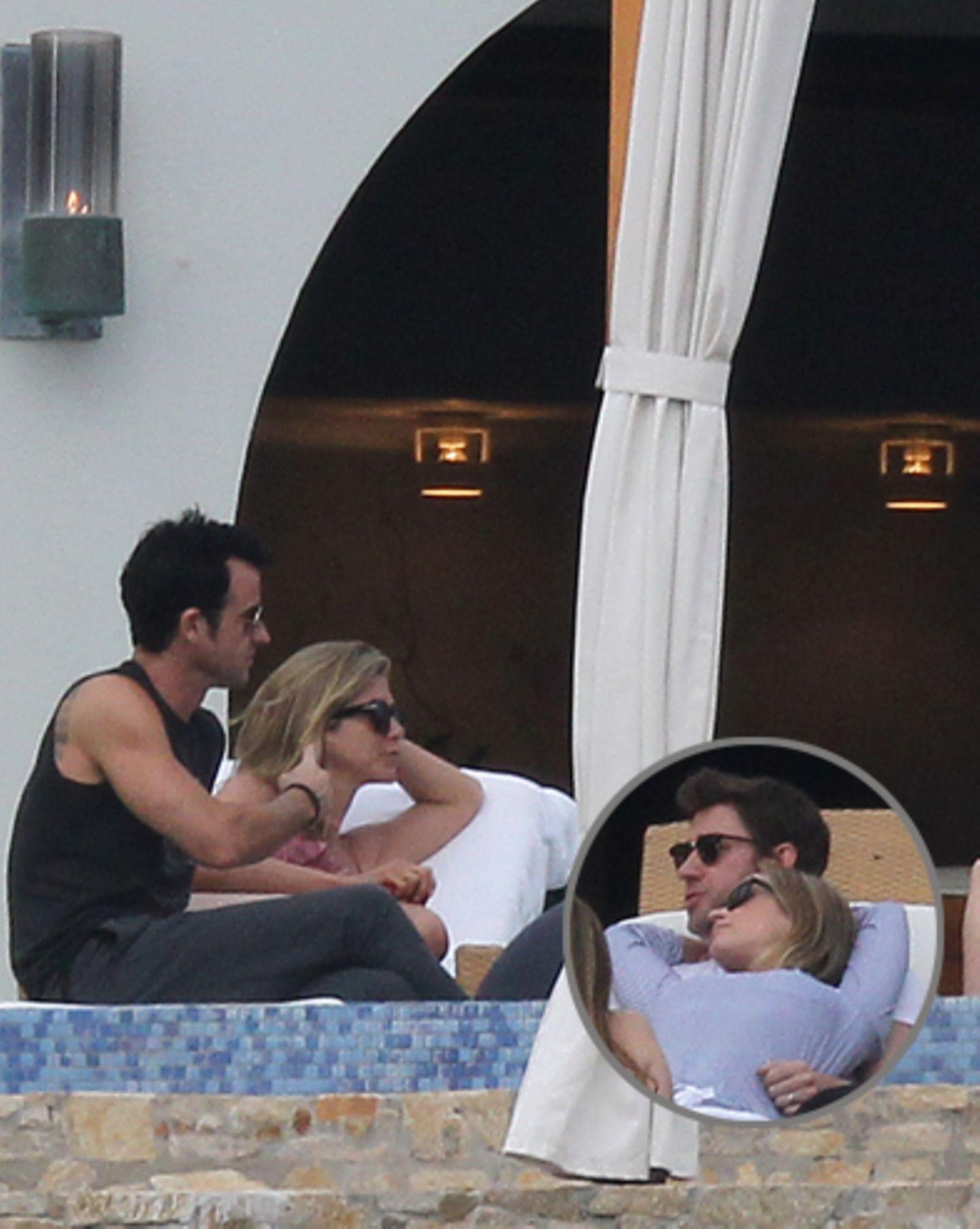 Justin Theroux, Jennifer Aniston, John Krasinski, Emily Blunt