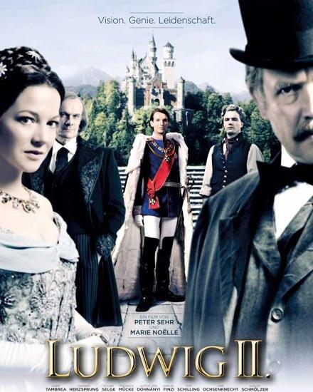 """Das offizielle Filmplakat zu """"Ludwig II."""""""