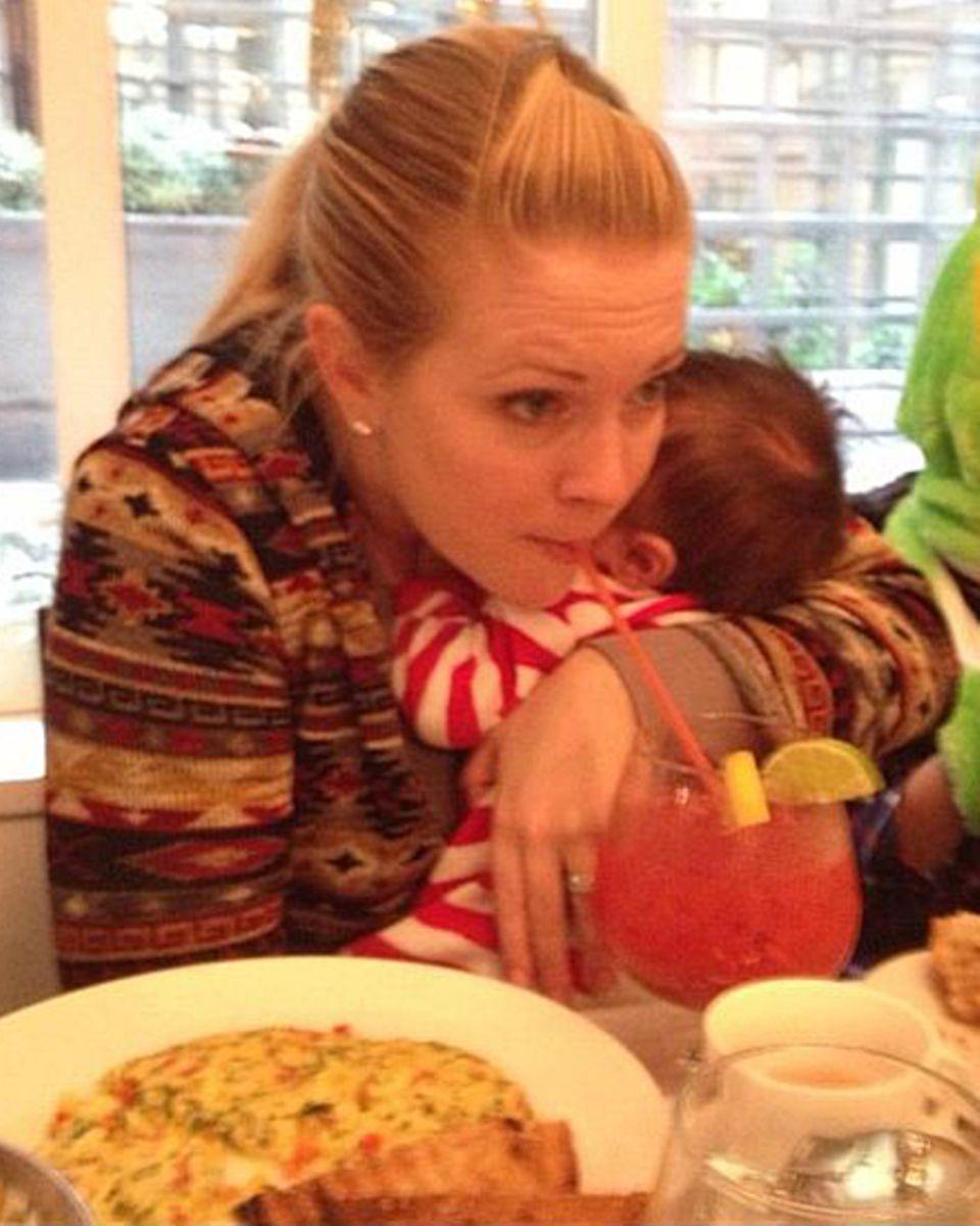 Melissa Joan Hart und ihre Bloody Mary.