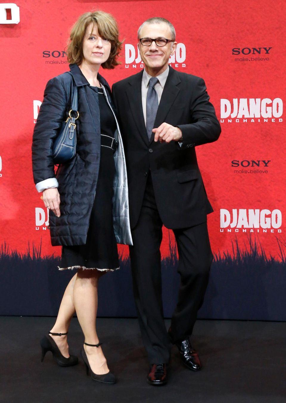 Auch privat stimmt alles: Seit 2001 ist Kostümbildnerin Judith Holste die Frau an Waltz ? Seite, mittlerweile sind die beiden verheiratet.