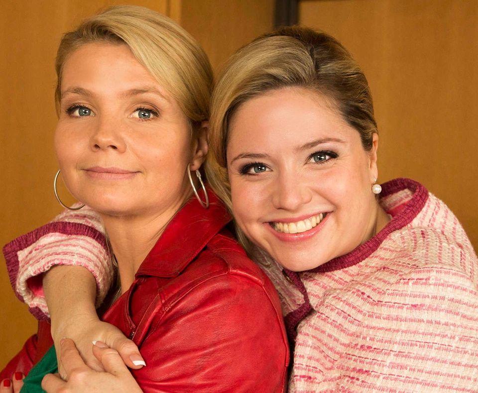 Annette Frier und Caroline Frier
