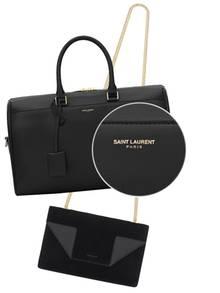 """Kurz und klar: Ein Aufschrei ging durch die Fashionwelt, als Hedi Slimane verkündete, er werde das berühmte YSL-Logo abschaffen und in """"Saint Laurent Paris"""" umbenennen."""