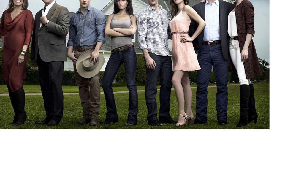 """Der Familienclan der Ewings aus der Kultserie """"Dallas""""."""