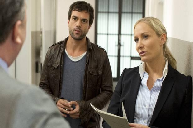 Ab dieser Woche ermittelt Janine Kunze neben Kai Schumann (er spielt Kommissar Heldt) als Staatsanwältin Ellen Bannenberg (ZDF, donnerstags, 19.25 Uhr)