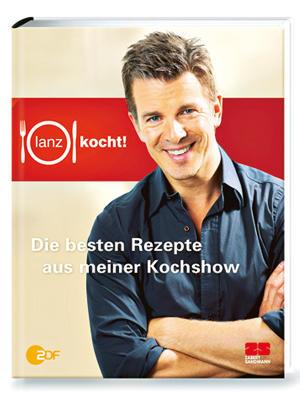 """Vier Jahre lang kreierten in """"Lanz kocht!"""" jeweils fünf Spitzenköche ein gemeinsames Menü. Jetzt will sich Moderator Markus Lanz ganz auf """"Wetten, dass...?"""" konzentrieren – zum Abschied vom Herd präsentiert er 120 Top-Rezepte.  (""""Lanz kocht! Die besten Rezepte aus meiner Kochshow"""", Zabert Sandmann Verlag, 184 S., 19,95 Euro)"""