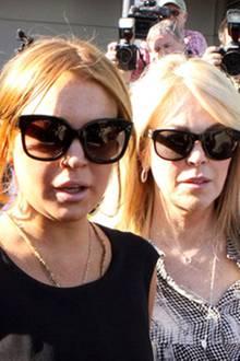 Lindsay und Dina Lohan