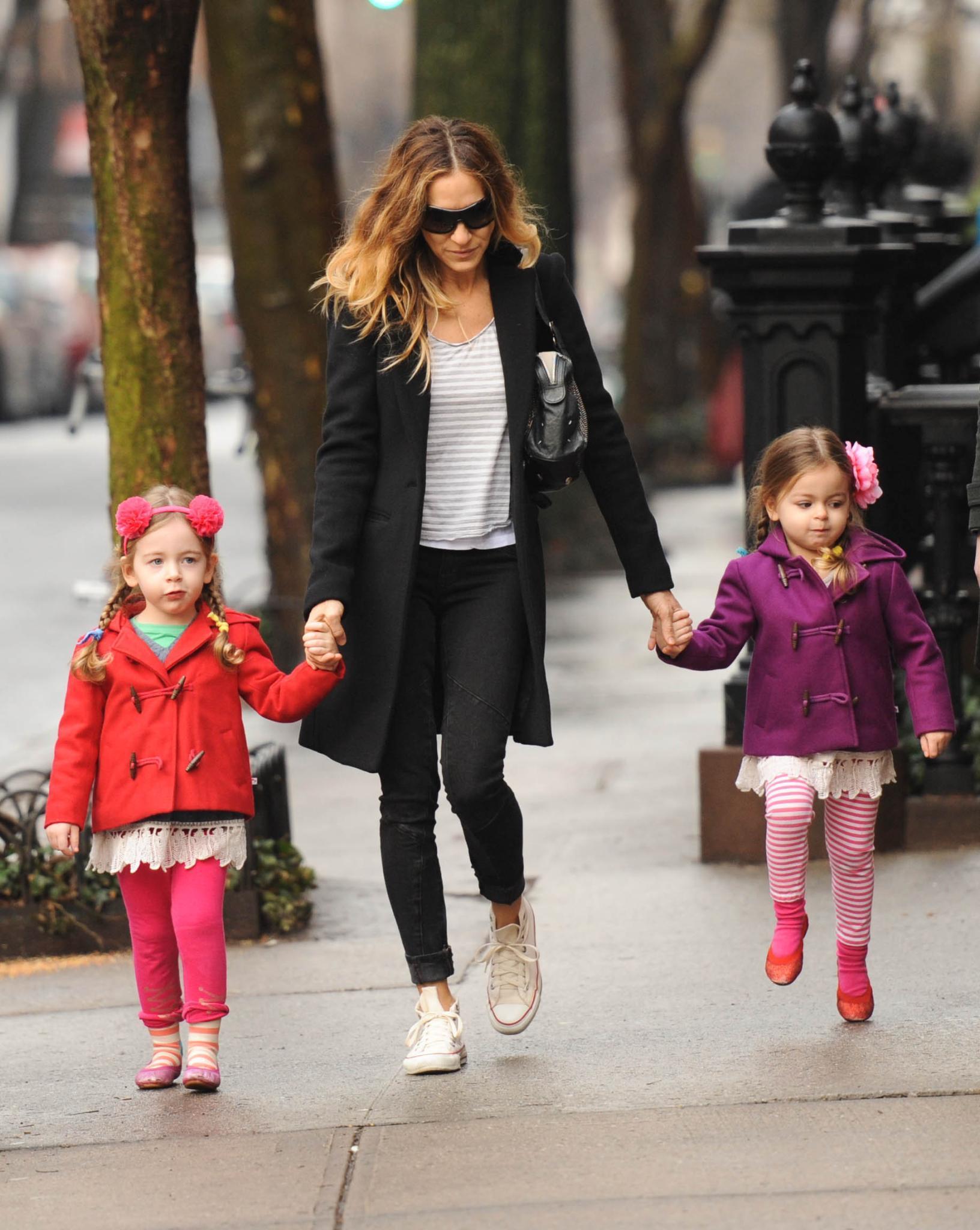Sarah Jessica Parker mit Marion und Tabitha