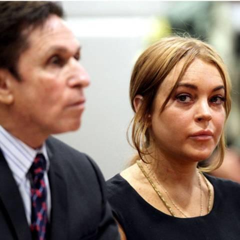 Mark Heller und Lindsay Lohan