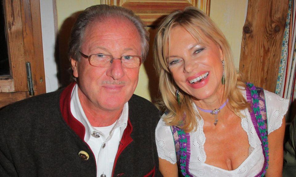 Nina Ruge mit Gatte Wolfgang Reitzle auf der Wiesn.