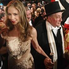 MIra Sorvino als Gast von Richard Lugner beim Wiener Opernball 2013