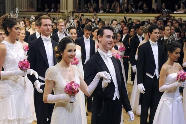 Die Debütanten des Wiener Opernballs 2013.