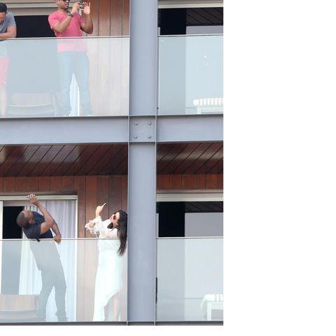 Will Smith, Kanye West und Kim Kardashian