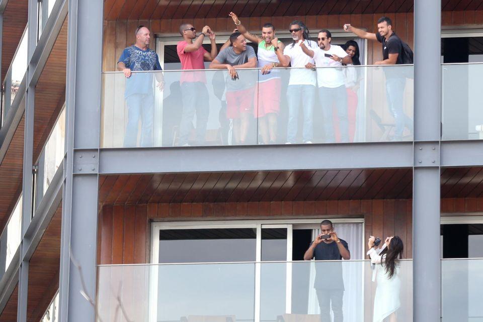 Kim Kardashian, Kanye West, Will Smith