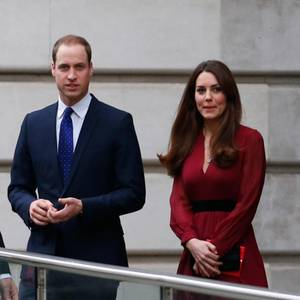 Die Herzöge von Cambridge, William und Catherine