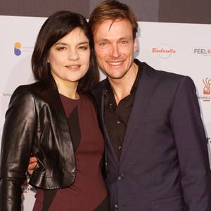 Andreas Pietschmann with Wife Jasmin Tabatabai