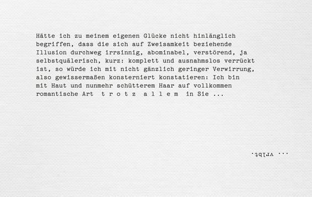 """Franz Dinda: """"Ein verzücktes Gespräch"""""""