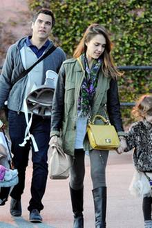 Jessica Alba und Familie