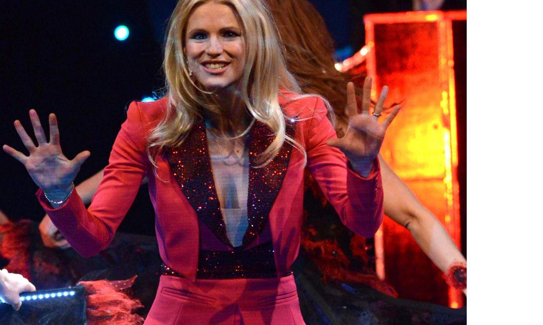 """Michelle Hunziker tritt mit ihrem Programm """"Mi scappa da ridere"""" auf."""