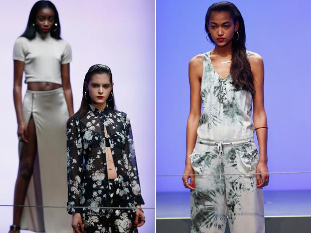 Rihanna: Das Werk von Rihanna für die Modekette River Island: viel bauchfrei, wenig Farbe