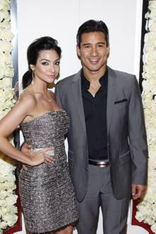 Courtney Mazza und Mario Lopez