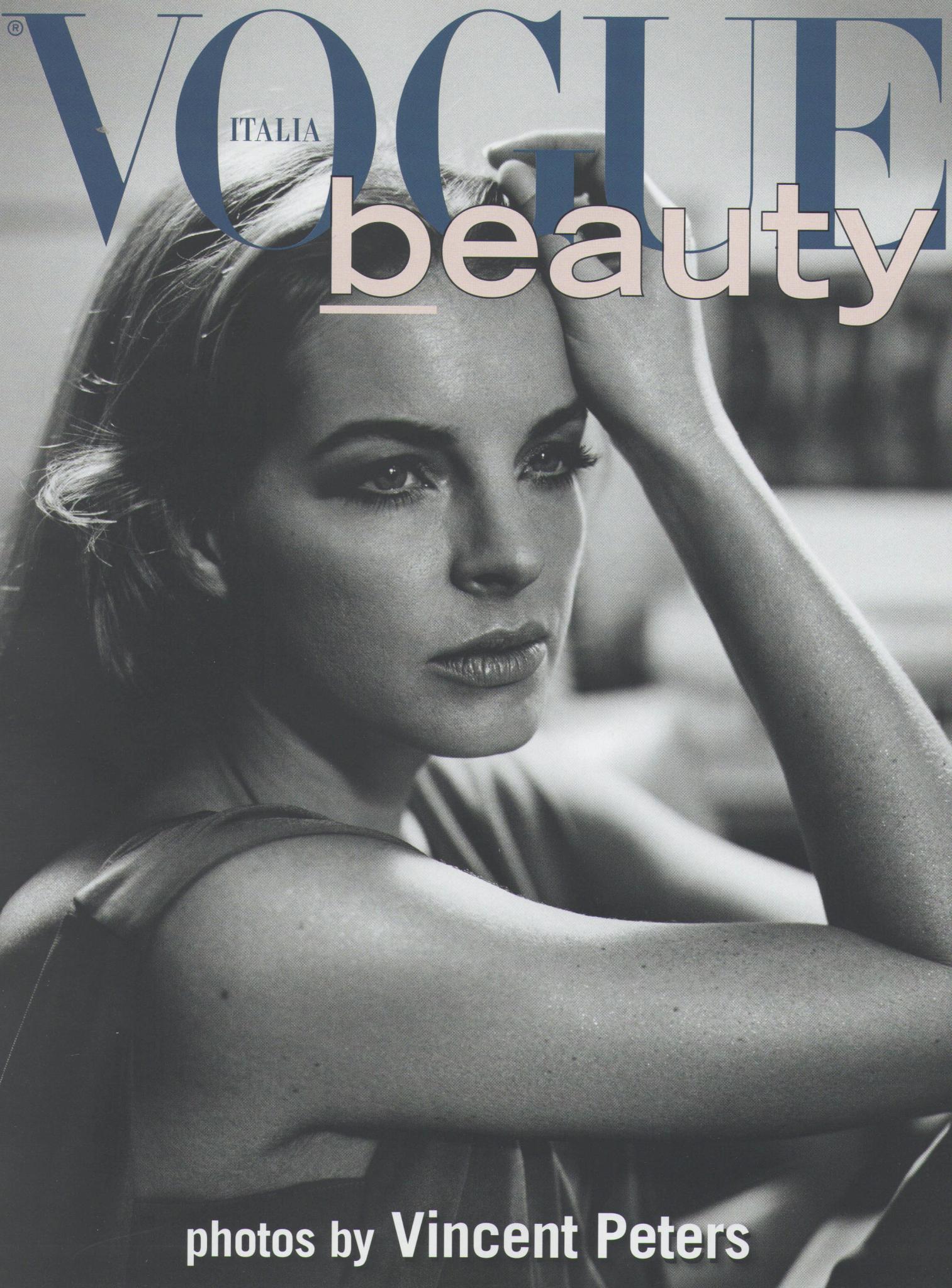 Yvonne Catterfeld ziert das Cover der italienischen Vogue