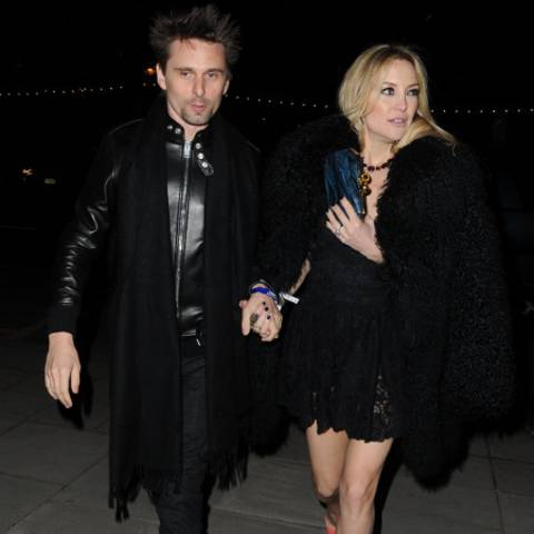 Matt Bellamy und Kate Hudson