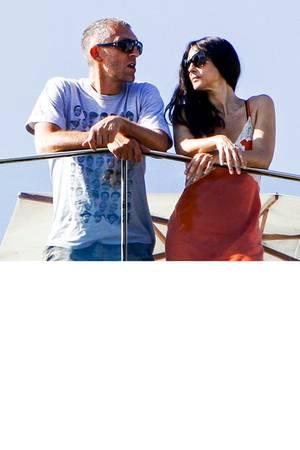 Monica Bellucci und Vincent Cassel