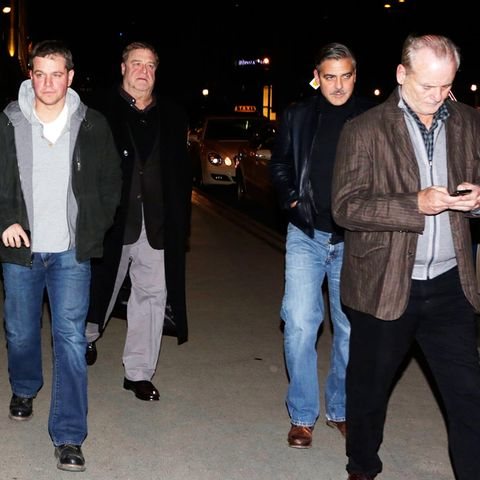 Matt Damon, John Goodman, George Clooney und Bill Murray