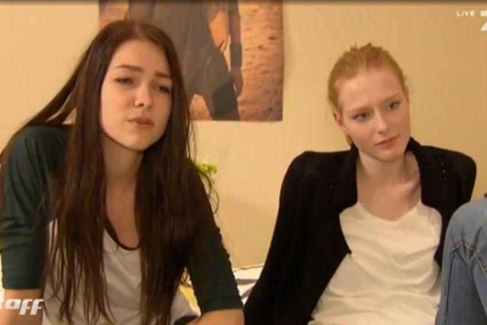 Marie (li.) und Maike