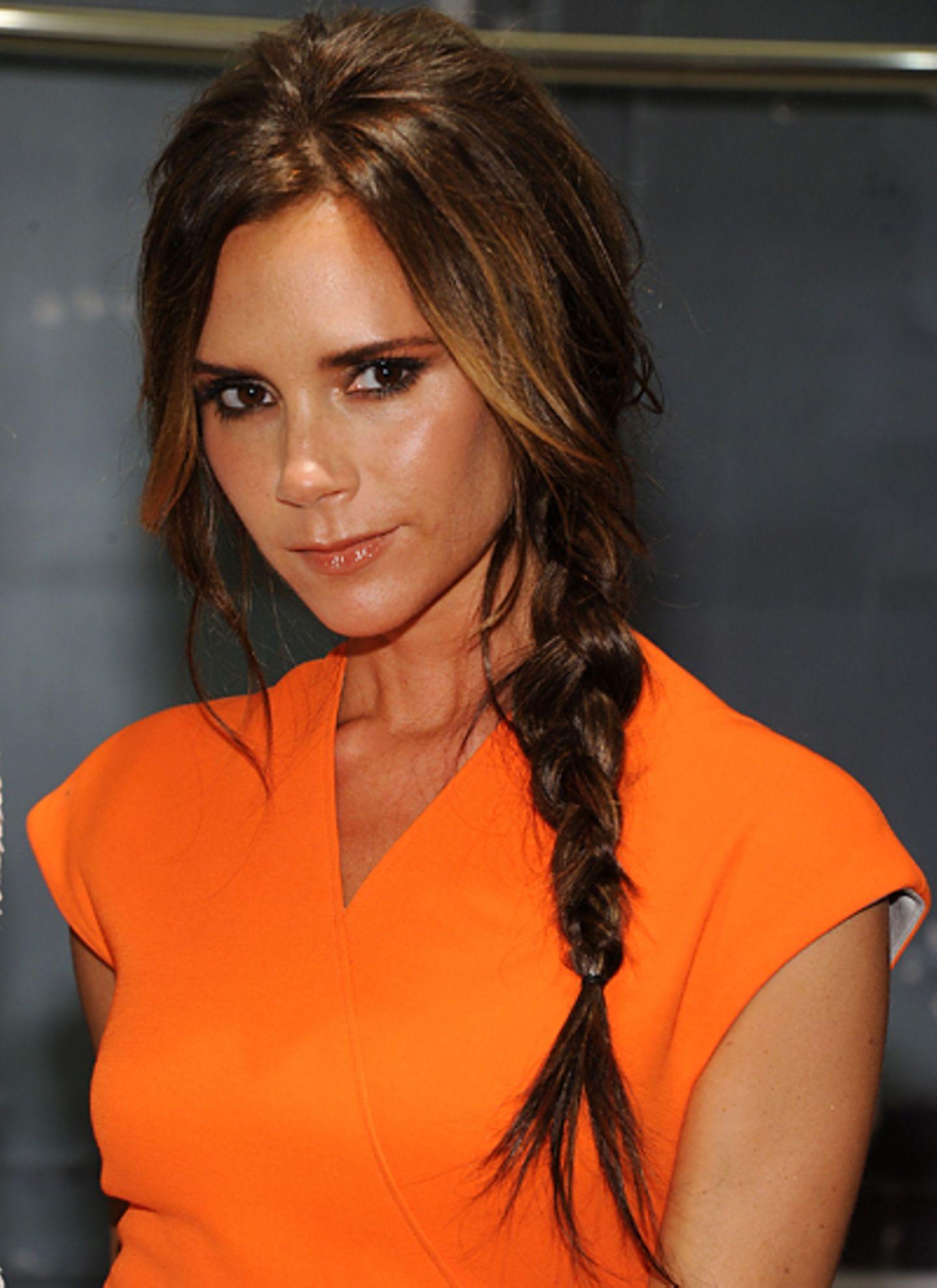 Getwittert hat das Bild Victoria Beckham, die sich gerade mit viel Stress auf die Präsentation ihrer Modelinie bei der New Yorke