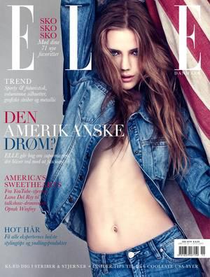Die 16-Jährige Esther Heesch ist nicht nur als Covermodel gefragt. Momentan ist sie das Kampagnengesicht des Hamburger Modelabels Closed.