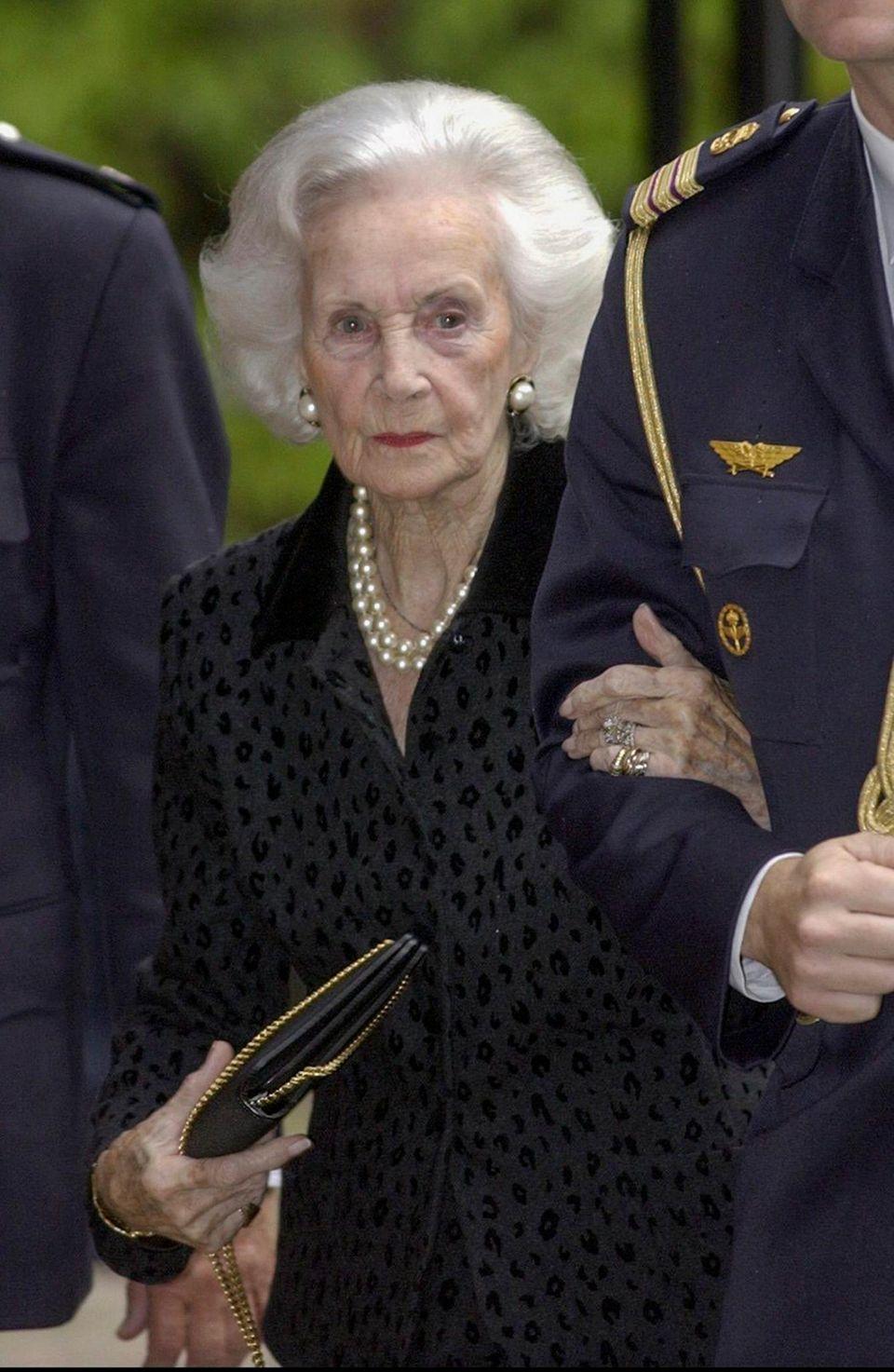 Die schwedische Prinzessin Lilian in einer Archivaufnahme aus dem Jahr 2003.